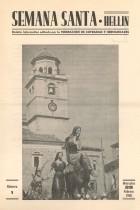 Semana Santa Hellín - Boletín informativo - 1968 - n1