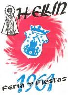 Programa de la Feria de Hellín - 1961