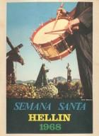 Programa de Actos de Semana Santa de Hellín - 1968