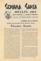Boletín Informativo de la Federación de Hermandades - 1963 - n4