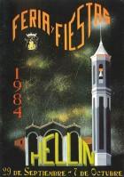 Programa de la Feria de Hellín - 1984