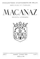 Macanaz 1 - enero marzo 1952