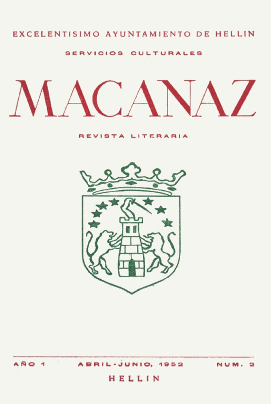 Macanaz 2 - abril junio 1952