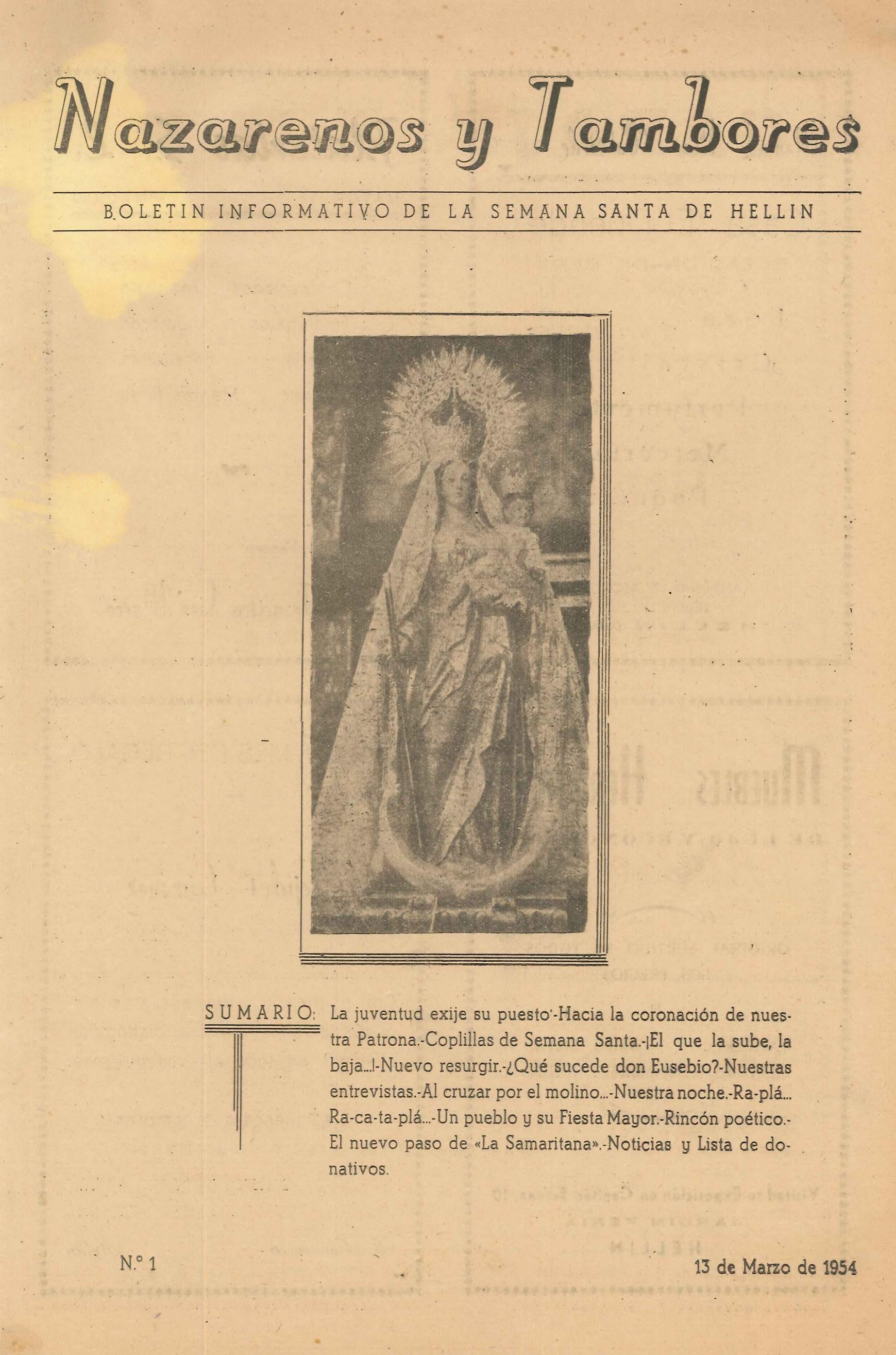 Nazarenos y Tambores - n1 -1954