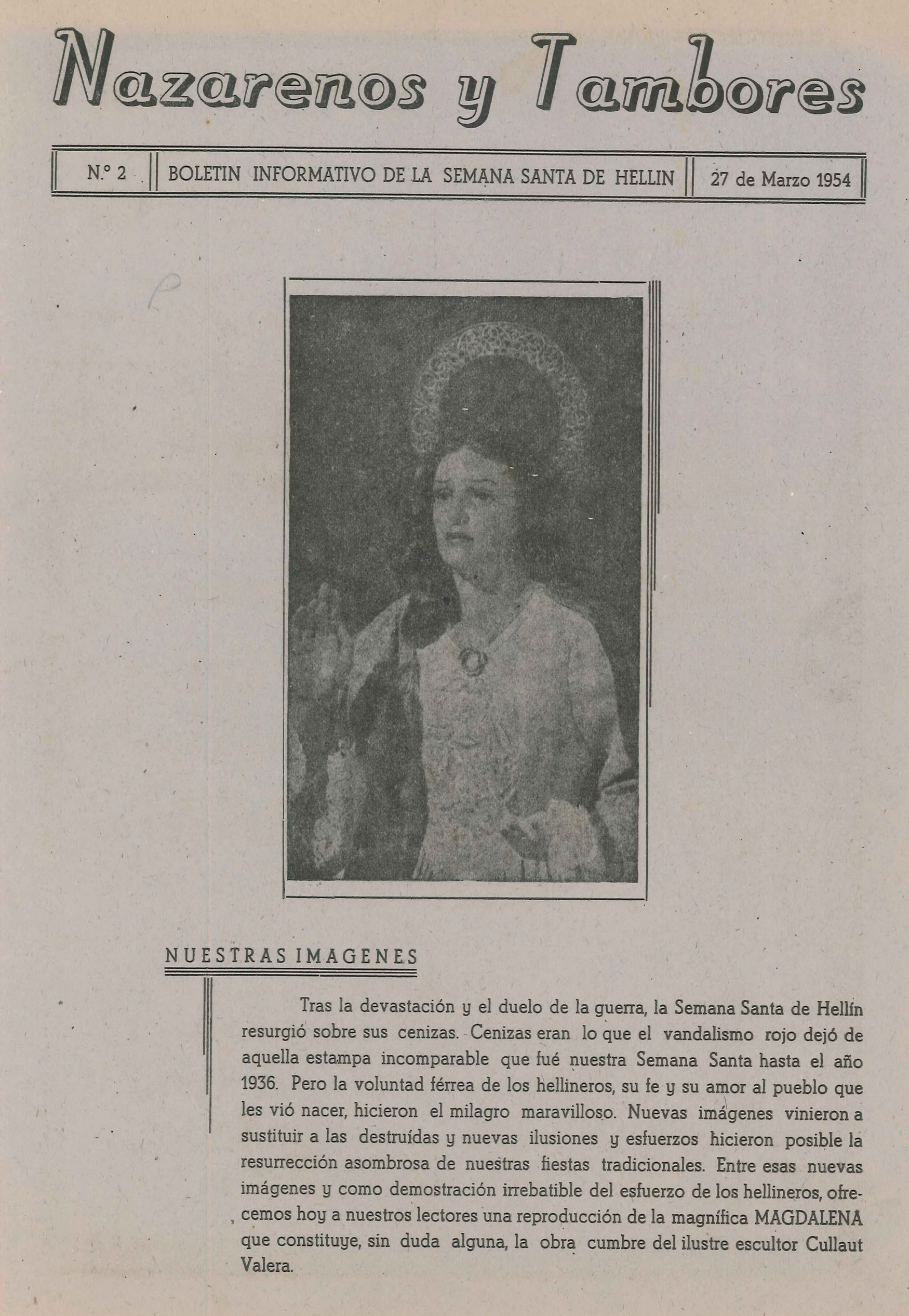 Nazarenos y Tambores - n2 -1954