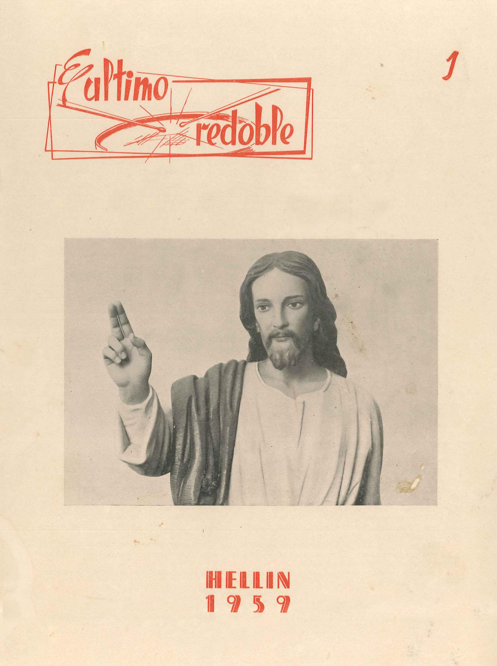 El último redoble - Boletín quincenal de información de la Federación de Hermandades - 1959 - n1