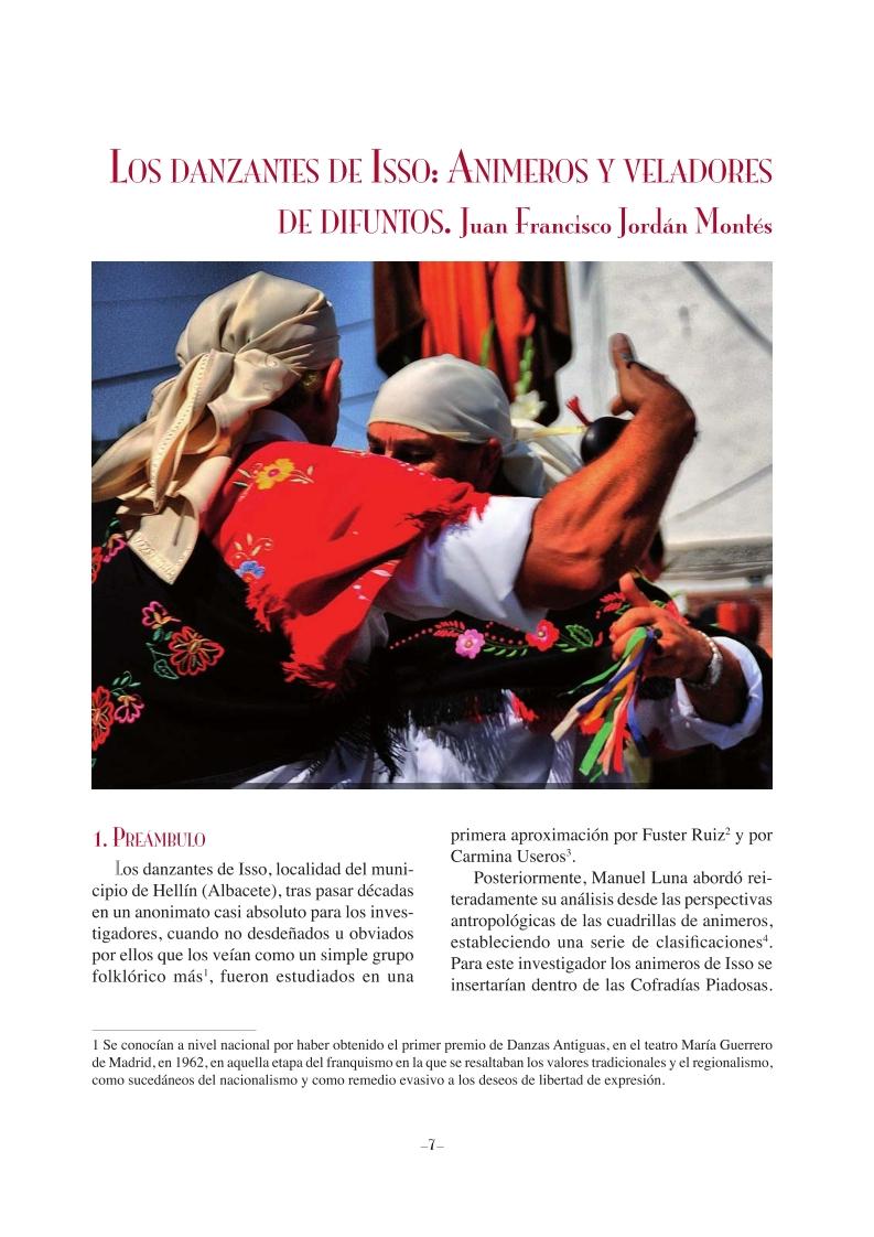 Los danzantes de Isso - animeros y veladores de difuntos