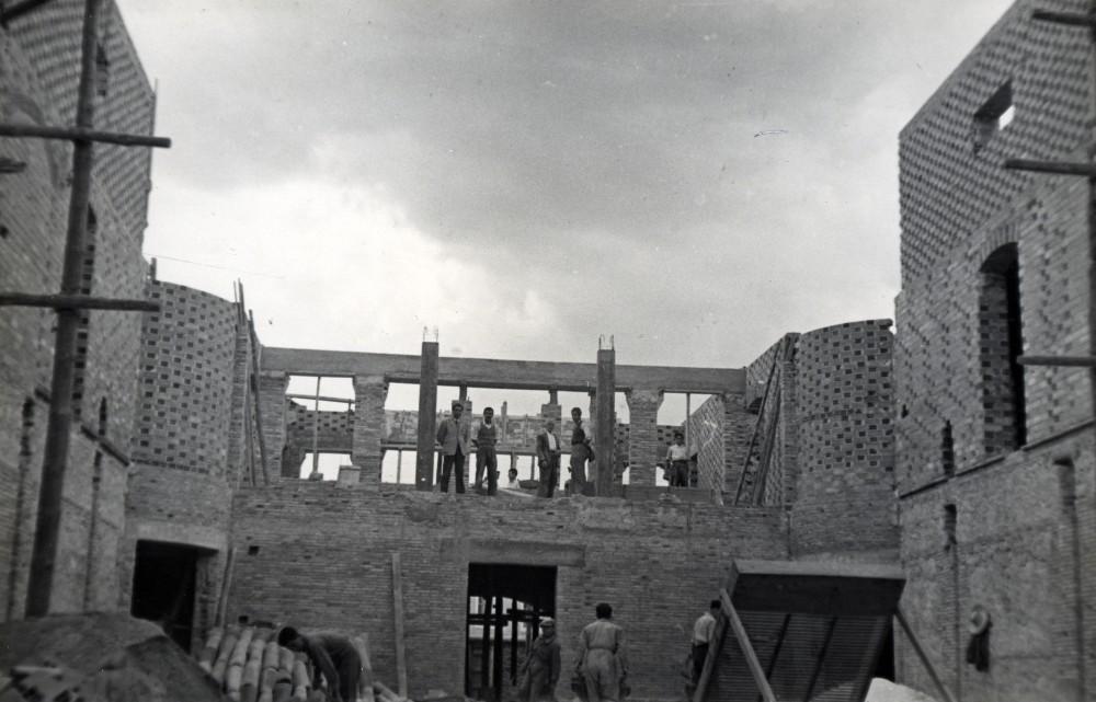 Construcción del Teatro Victoria