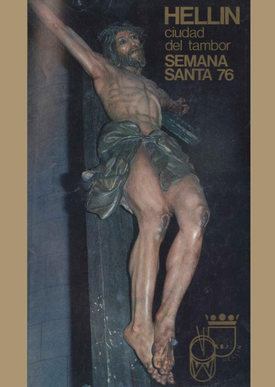 Programa de Actos de Semana Santa de Hellín - 1976
