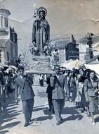 Procesión de Santiago en Isso - 1950